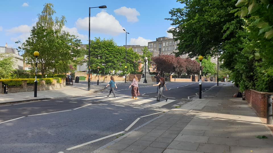Abbey Road, The Beatles & a Zebra Crossing