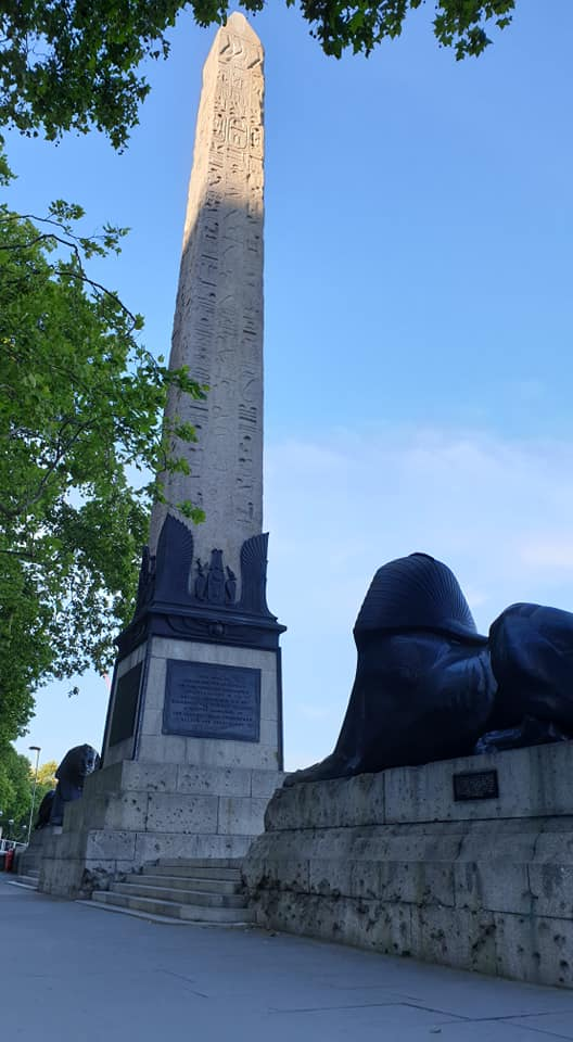 Cleopatra's Needle, London